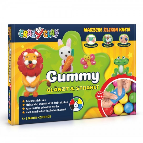 CrazyClay Gummy Basisbox Set