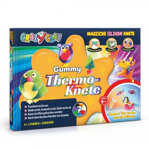 CrazyClay Gummy Thermoknete Set